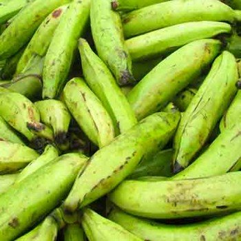 Banane plantain (verte)