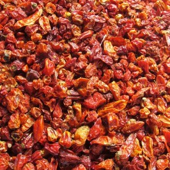 Piment rouge court sec